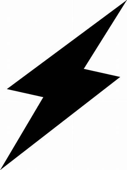 Lightning Flash Icon Icons Svg Dark Vector