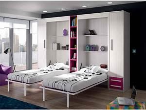 Lit Pour Ado : secret de chambre chambre enfant ado ~ Melissatoandfro.com Idées de Décoration