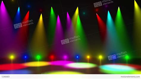 industrial looking lighting disco stage 2 stock animation 1246683