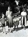 Ingrid Bergman, children, Robertino, Pia Lindstrom, twins ...