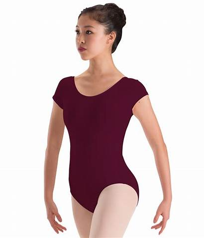 Leotard Sleeve Cap Motionwear Fuschia Bright Nydancewear