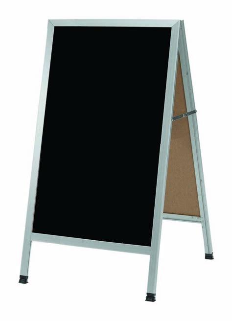 aarco products aa 11 a frame sidewalk black melamine