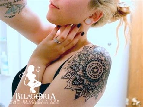 tatuajes de mandalas  chicas youtube