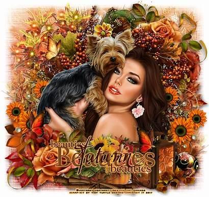 Autumn Ftu Tutorials Psp Scrap Kits Beauties
