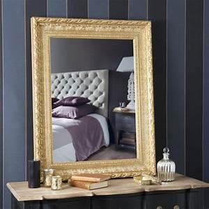 Miroir Baroque Maison Du Monde : miroir marquise or 96x76 maisons du monde ~ Melissatoandfro.com Idées de Décoration