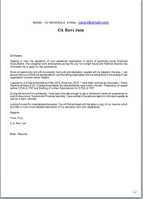 Resume Cover Letter Format by Resume With Cover Letter Sle