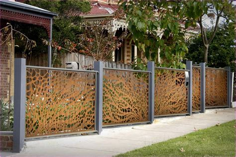 ideas of bedroom decoration decorative metal garden fence