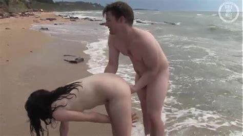 Aussie Couple Having Hot Oral Sex On Naturist Beach