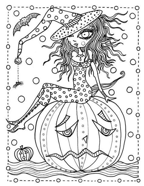 dibujos de halloween  colorear imagenes halloween