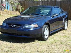 2002 True Blue Metallic Ford Mustang V6 Coupe #3971279 | GTCarLot.com - Car Color Galleries