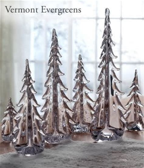 simon pierce glass cmas trees willow decor simon pearce evergreen trees and 3 grains giveaway winner