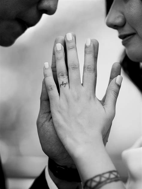 Wedding Ring Tattoos For Couples | Bridal Book FN