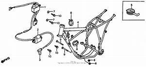 Frame   Ignition Coil 82 For 1982 Honda Cr80