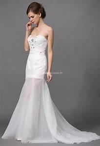 Robe Mariee Courte : robe de mari e courte avec strass et sequins ~ Melissatoandfro.com Idées de Décoration