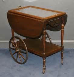 Antique Tea Carts with Wheels
