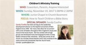 Children Ministry Training Nov 2017 | CBCGB