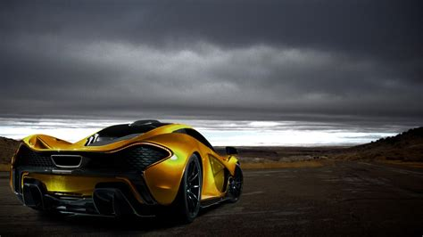 Mclaren P1 Supercar Hd Wallpaper