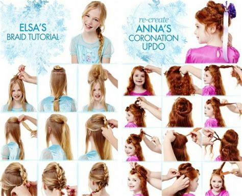 elsa zopf flechten diy flecht und hochsteckfrisuren aus dem kinofilm die eisk 246 nigin haare diy braids braids