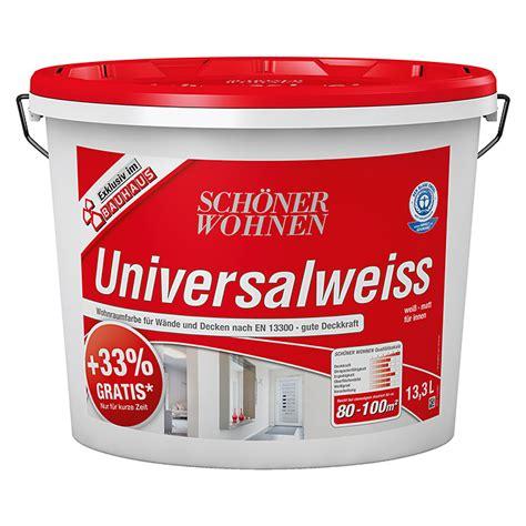 Schöner Wohnen Beratung by Sch 246 Ner Wohnen Wandfarbe Universalwei 223 33 Gratis Wei 223