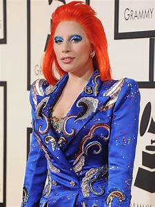 Lady Gaga's Makeup Pro on her David Bowie-Inspired Grammy