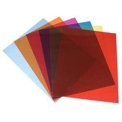ustensile de cuisine en plastique feuilles plastiques transparentes de couleur par 5