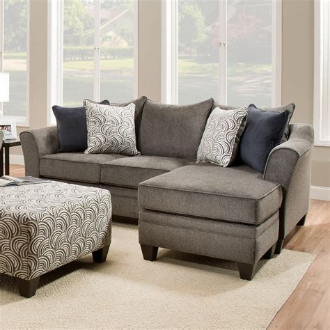united furniture industries  transitional sofa chaise