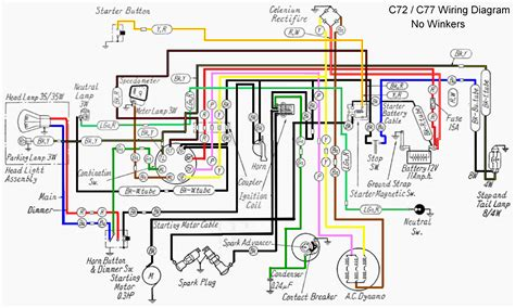 Caf 150 Electrical Wiring Diagram by Honda305 Forum View Topic Honda Cl77 1965