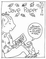 Coloring Conservation Saving Printable Planet Sciencekids Nz Focuses Environment sketch template