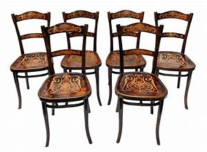 Antike Möbel Essen : thonet stuhl gruppe 6er satz buche jugendstil antiquit ten antik m bel jugendstil ~ Markanthonyermac.com Haus und Dekorationen