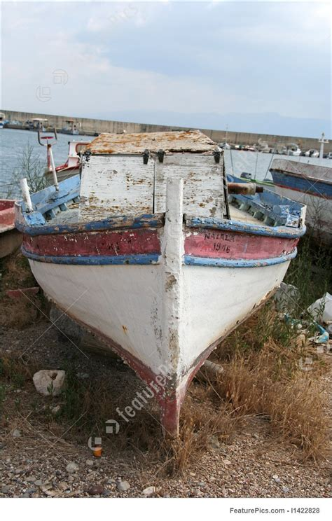 Bow Of Old Boat by Old Boat Bow Picture