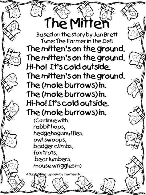 grade wow smitten with mittens 368   smitten with mittens poem