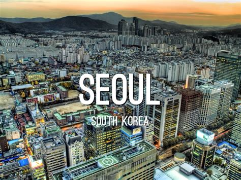 seoul south korea  michael ursell