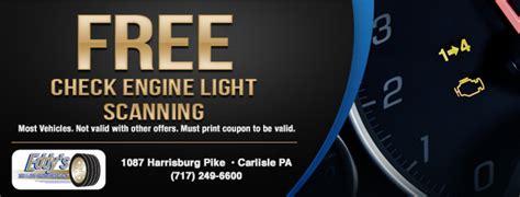 free check engine light tires coupons carlisle pa mechanicsburg pa shippensburg