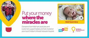 Help Walmart Support Children's Miracle Network