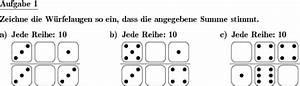 Summe Einer Reihe Berechnen : w rfelaugen plus erg nzen individuelle mathe ~ Themetempest.com Abrechnung