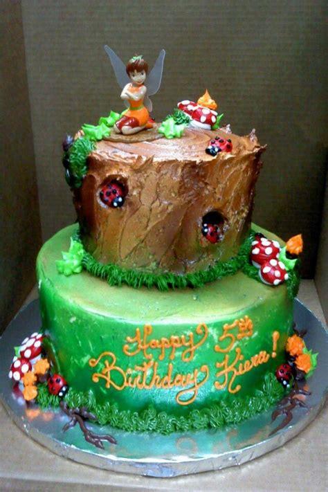 buttercream   airbrushing fairy cake tinkerbell