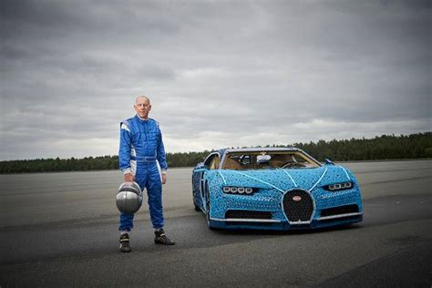 Lego says the car can accelerate to slightly over 12 miles per hour (theoretically up 18 miles per hour) and weighs over 3,000 pounds. Lego built a life-size Bugatti Chiron that can be driven and people are going wild   Trending ...