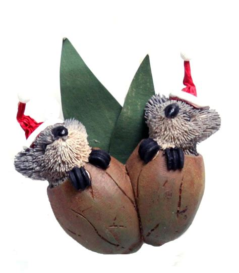 twin koala gumnut babies christmas tree decoration