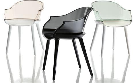 chaise de bar transparente magis cyborg armchair hivemodern com