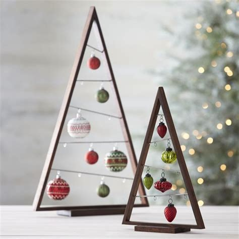 diy ornament display tree kerst pinterest ornament