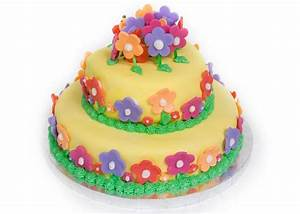 Custom Fondant Birthday Cake Designs - Fondant Cake Images