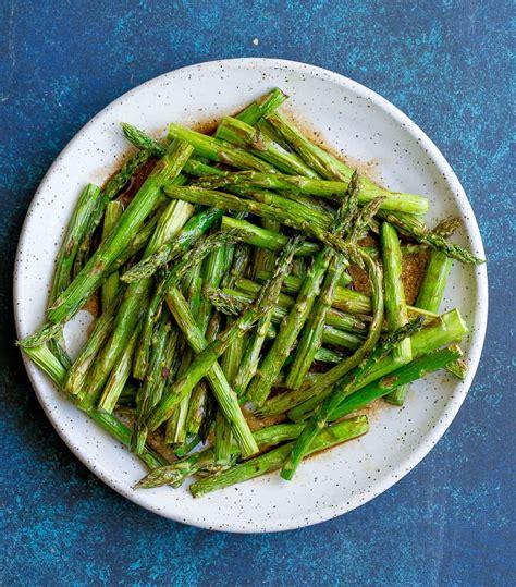 asparagus air fryer crispy wholesomelicious vegetable