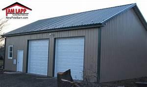 Residential polebarn building royersford tam lapp for 40 x 70 steel building