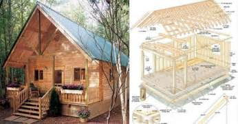 Build This Cozy Cabin For Under 6000 Home Design Garden Small Cabin Floor Plans And Small House Plans Available Log Cabin Tuff Shed Cabin Plans Two Story Shed Design Castle In The Clouds Stone Cottage Explore Rgallant Photog