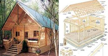 building plans for small cabins build this cozy cabin for 6000 home design garden architecture magazine