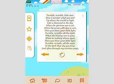 Children's Poems Kids' Poetry & Nursery Rhymes iPad