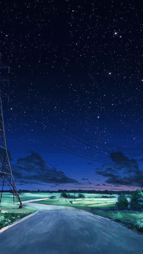 aw arseniy chebynkin night sky star blue illustration