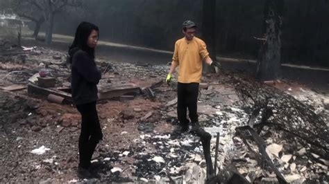 Couple returns to find home destroyed in wildfire   king5.com