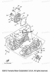 Yamaha Atv 2012 Oem Parts Diagram For Crankcase