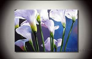 China Modern Flower Oil Painting on Canvas for Decor (FL1